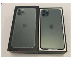 Apple iPhone 11 Pro 64GB  = 500 EUR,iPhone 11 Pro Max 64GB = 530 EUR, iPhone 11 64GB = 400 EUR